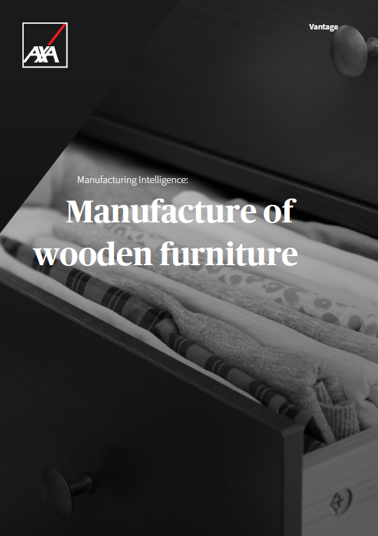 Risk Management Manufacture Wooden Furniture