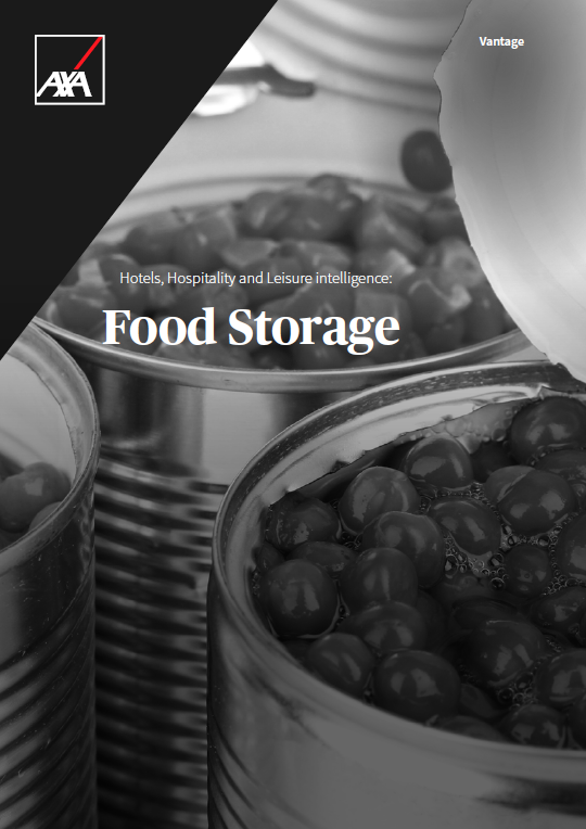 Risk Management Food Storage